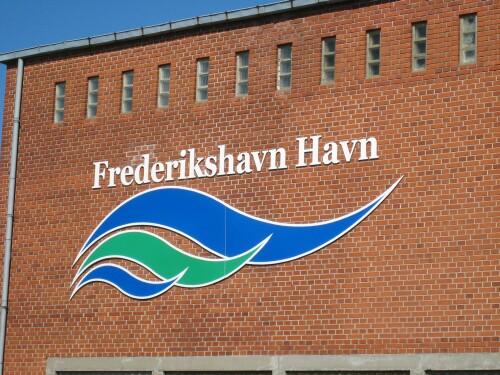 Frederikshavn Harbour (Havn) Sign