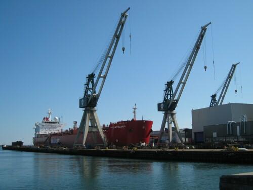Denmark Cargo Ships - Frederikshavn Harbour