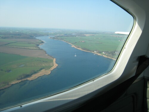 Haderslev Fjord from the Air