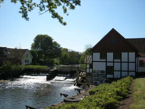 Saeby Watermill - Danish Vandmoelle