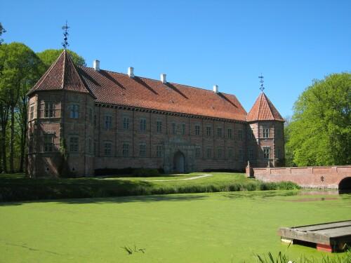 Voergaard Renaissance Castle - Denmark Castle