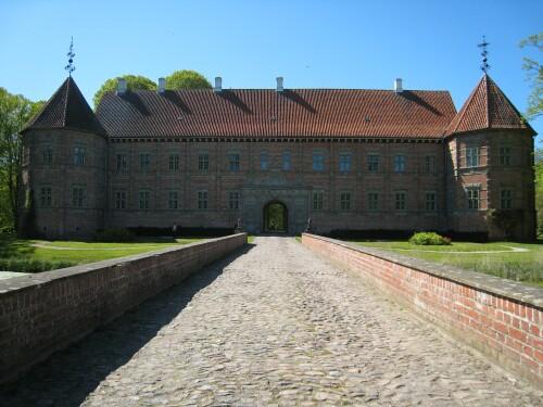 Bridge Accross the Moat at Voergaard Castle