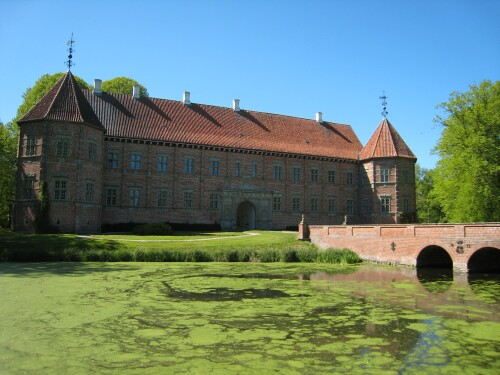 Moated Castles in Denmark - Voergaard Slot