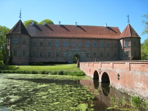 Voergaard Castle - Voergård Slot - Denmark