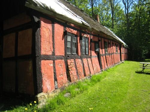 Voergaard Castle Half-Timbered Building