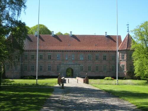 Cobblestone Road in Denmark - Voergaard Castle