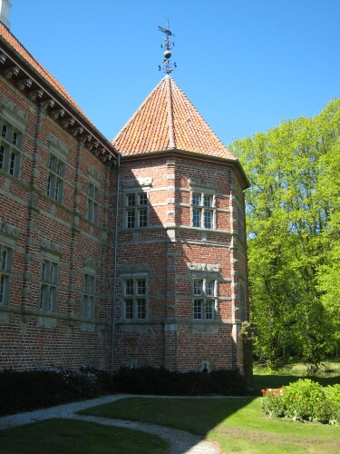 Voergaard Castle - Voergård Slot in Vendsyssel