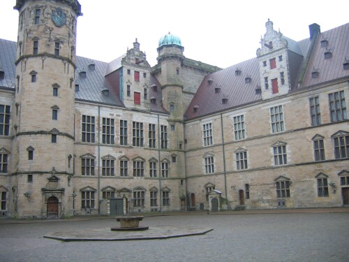 Kronborg Castle Courtyard