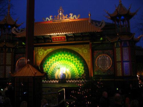 Asian Restaurant at Tivoli Gardens