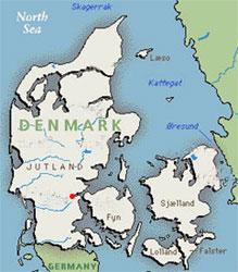 Kolding map