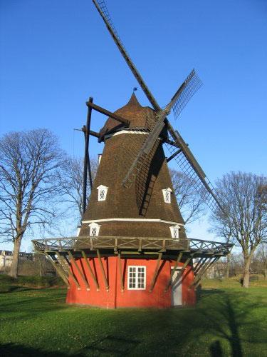 Windmill-in-Copenhagen-Castle